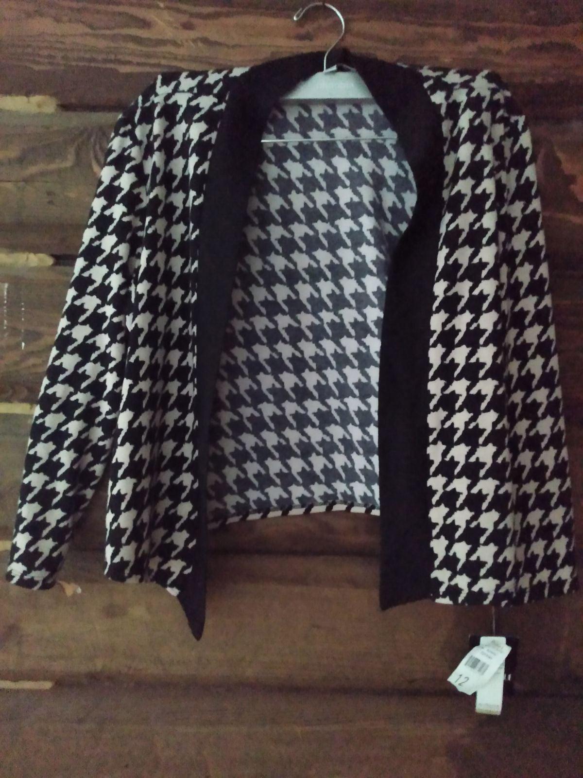 New Crop Cardigan Sweater Herringbone