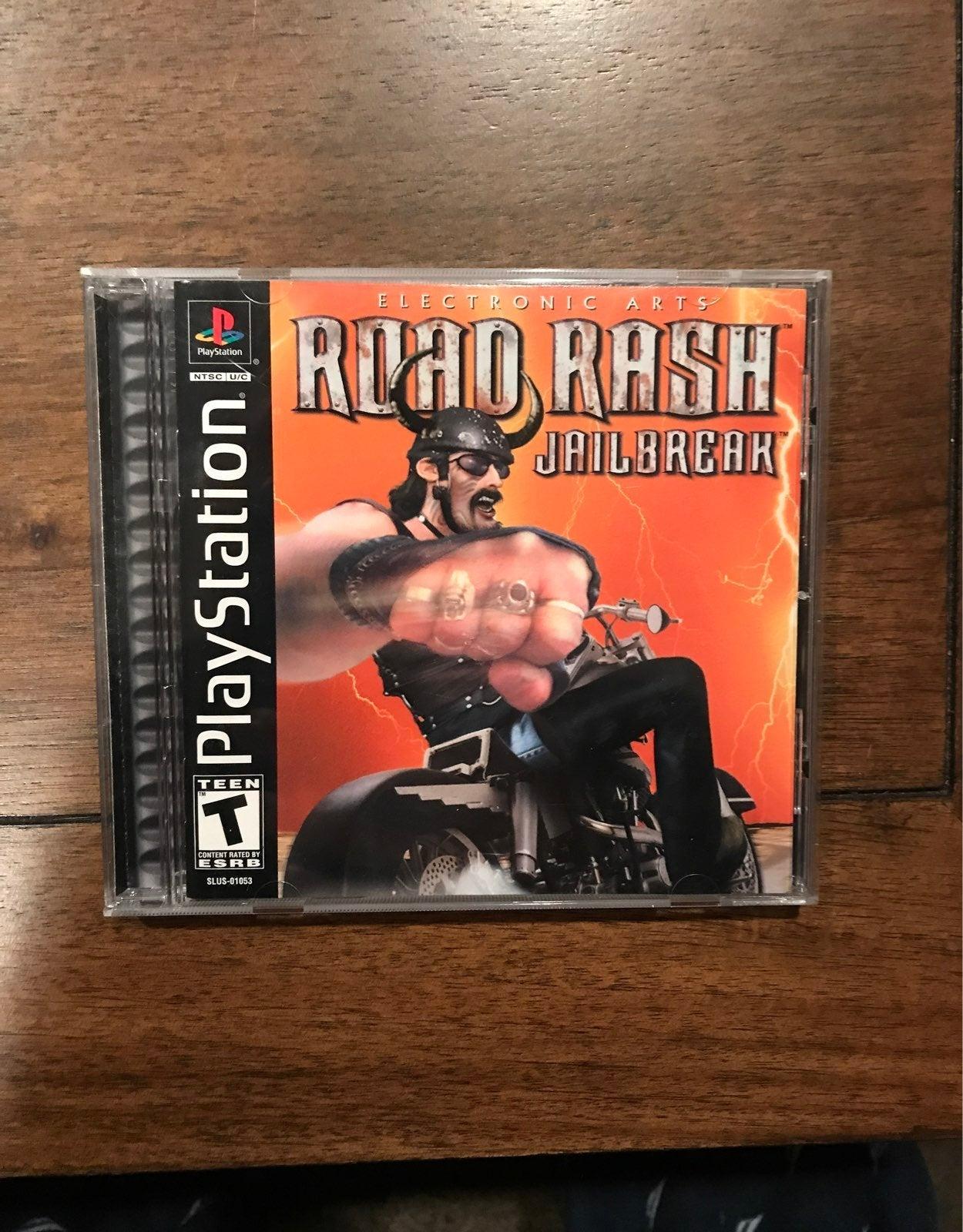 Road Rash: Jailbreak on Playstation 1