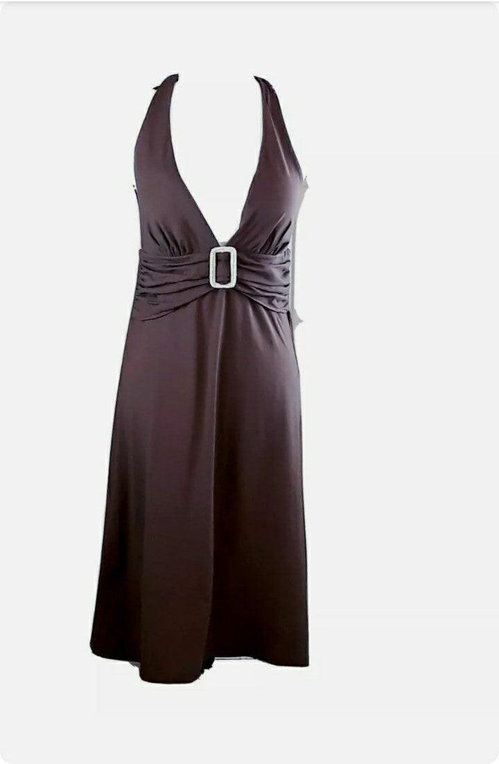 Women M 8-10 Tommy Bahama Halter Dress