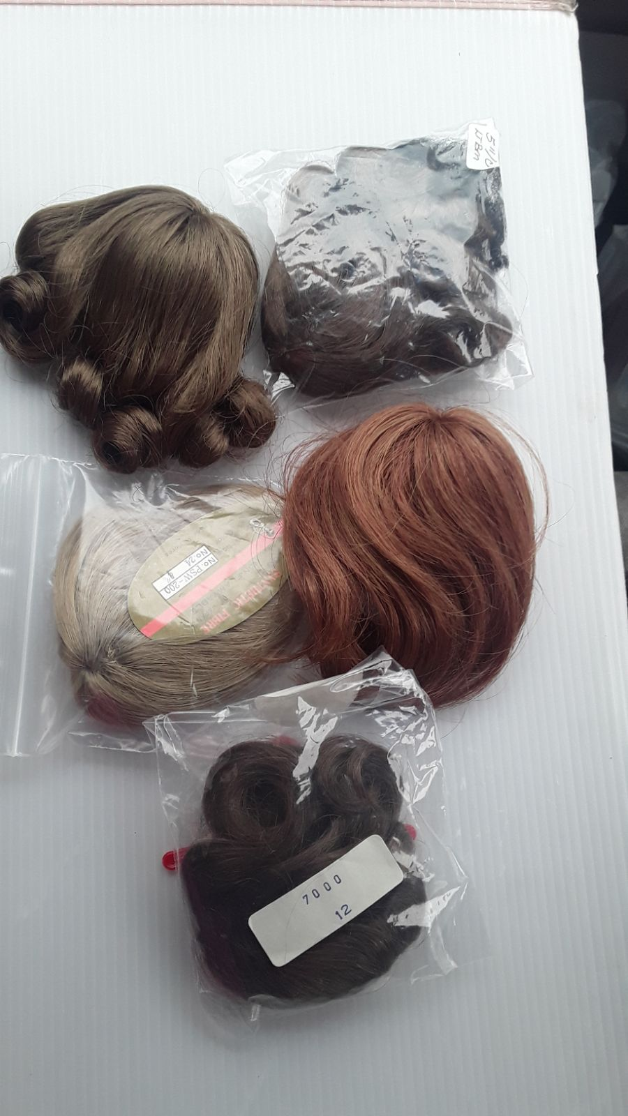 Synthetic fiber doll Wigs for Barbie dol