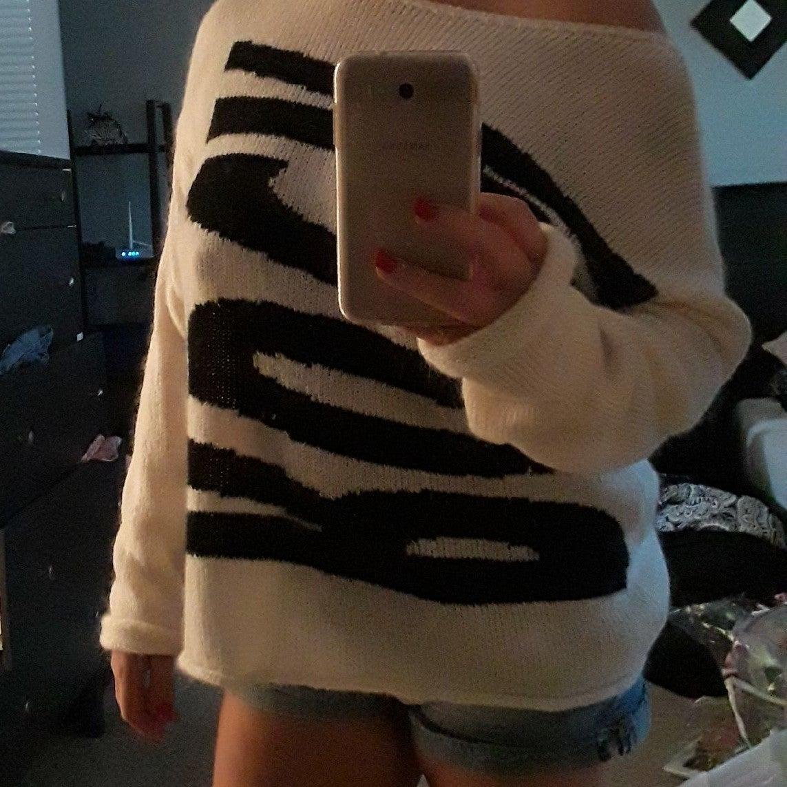 Rock benetton sweater