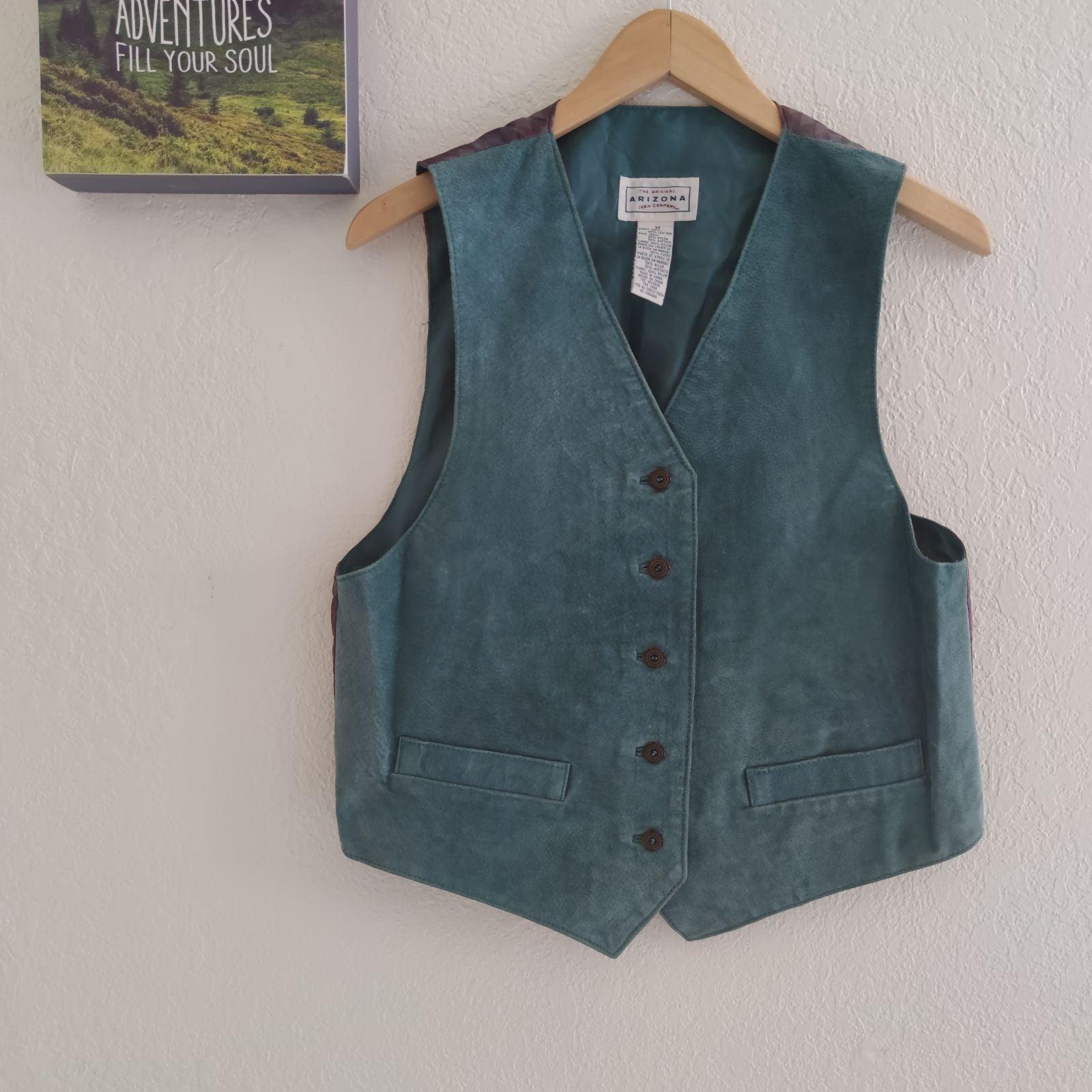 Arizona Jeans • Vintage Suede Vest Weste