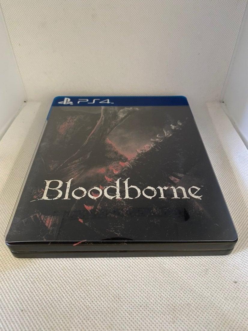 Bloodborne Steelbook Case PS4 (NO GAME)