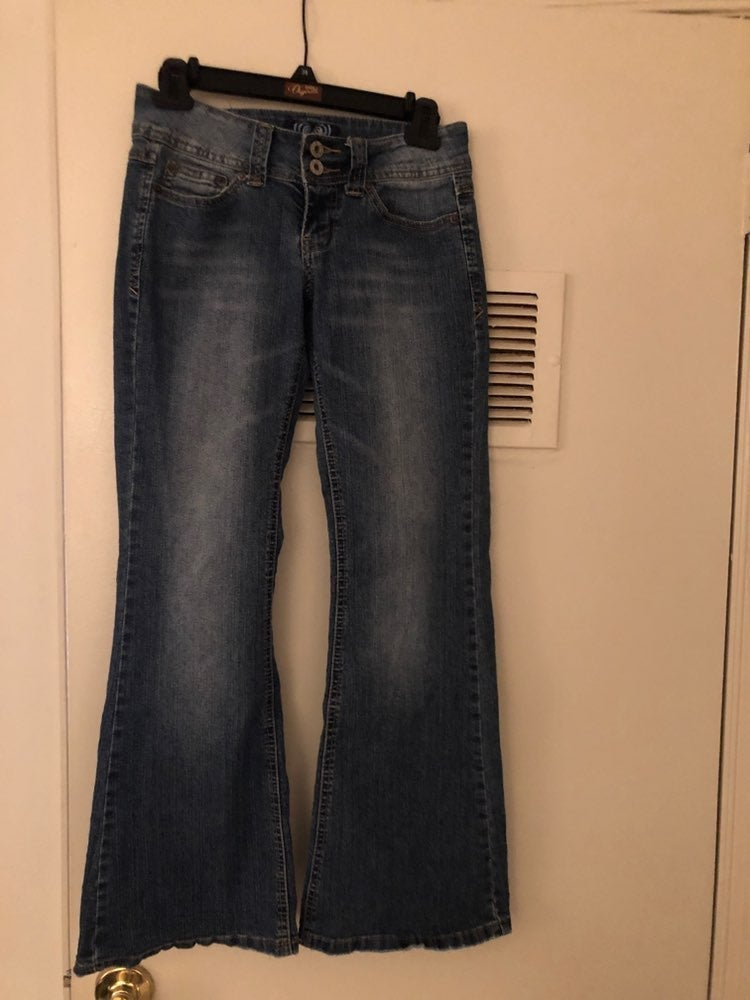 Women's Angels boot cut Jeans, Size 3