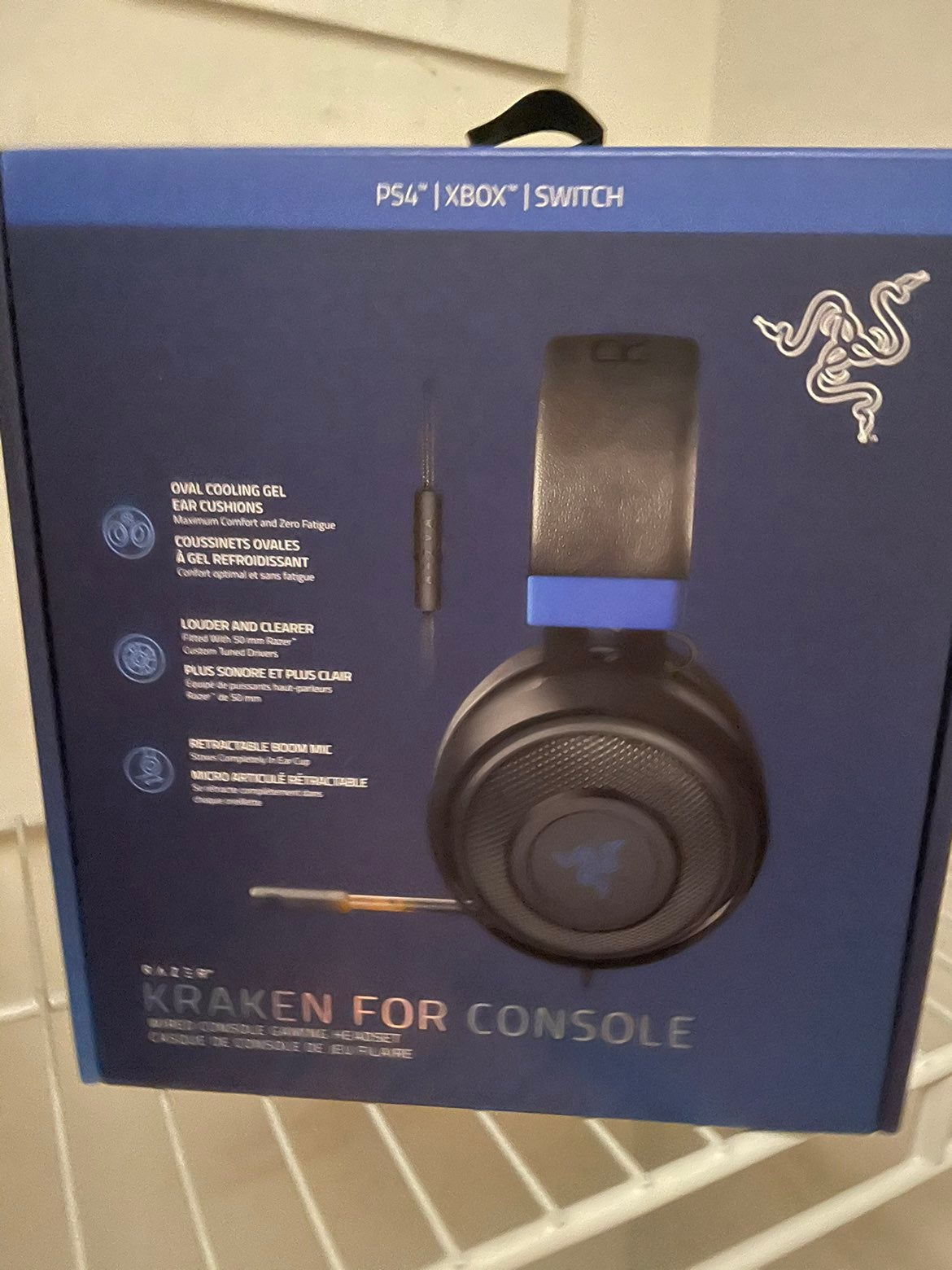 Razer Kraken for Console Headphone NIB