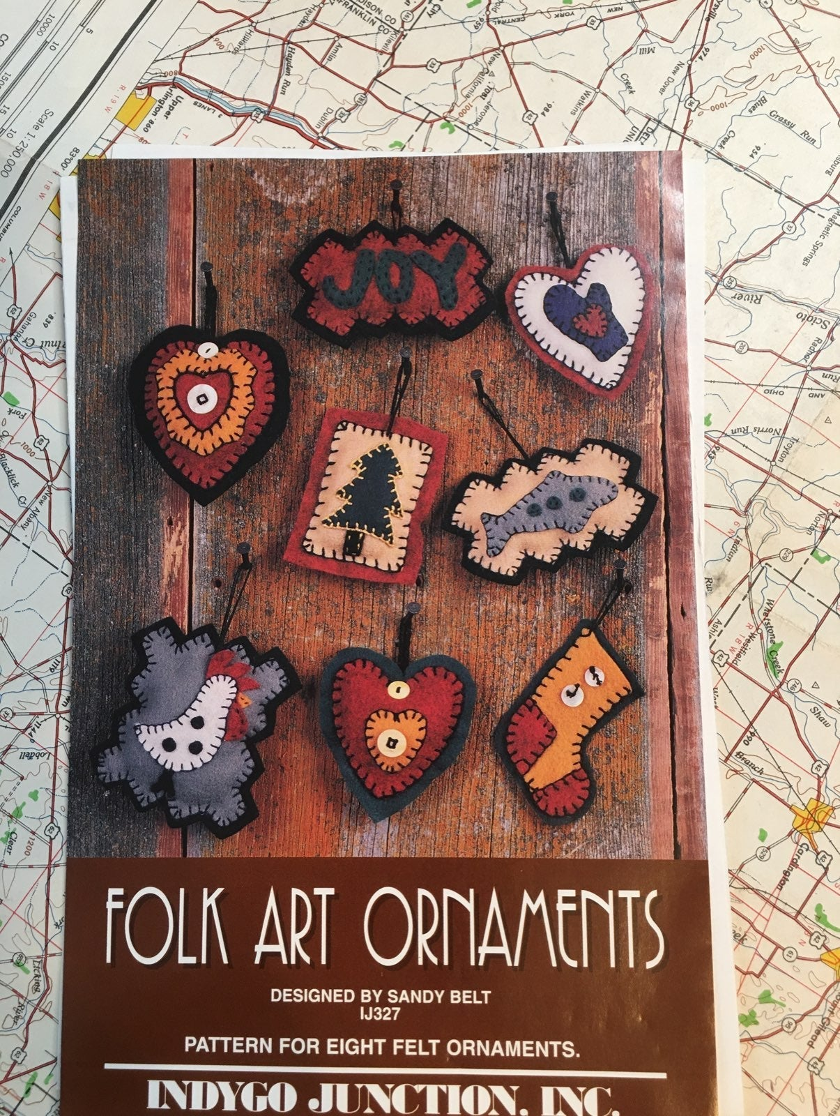 Folk Art Ornaments Pattern