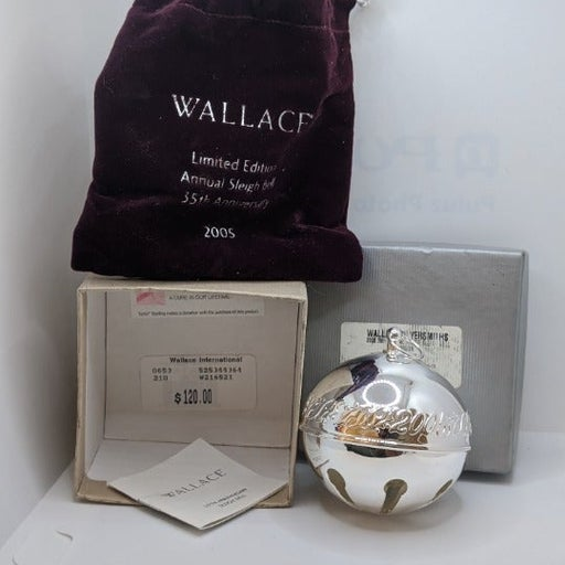 Wallace Sleigh Bell 2005 35 Anniversary
