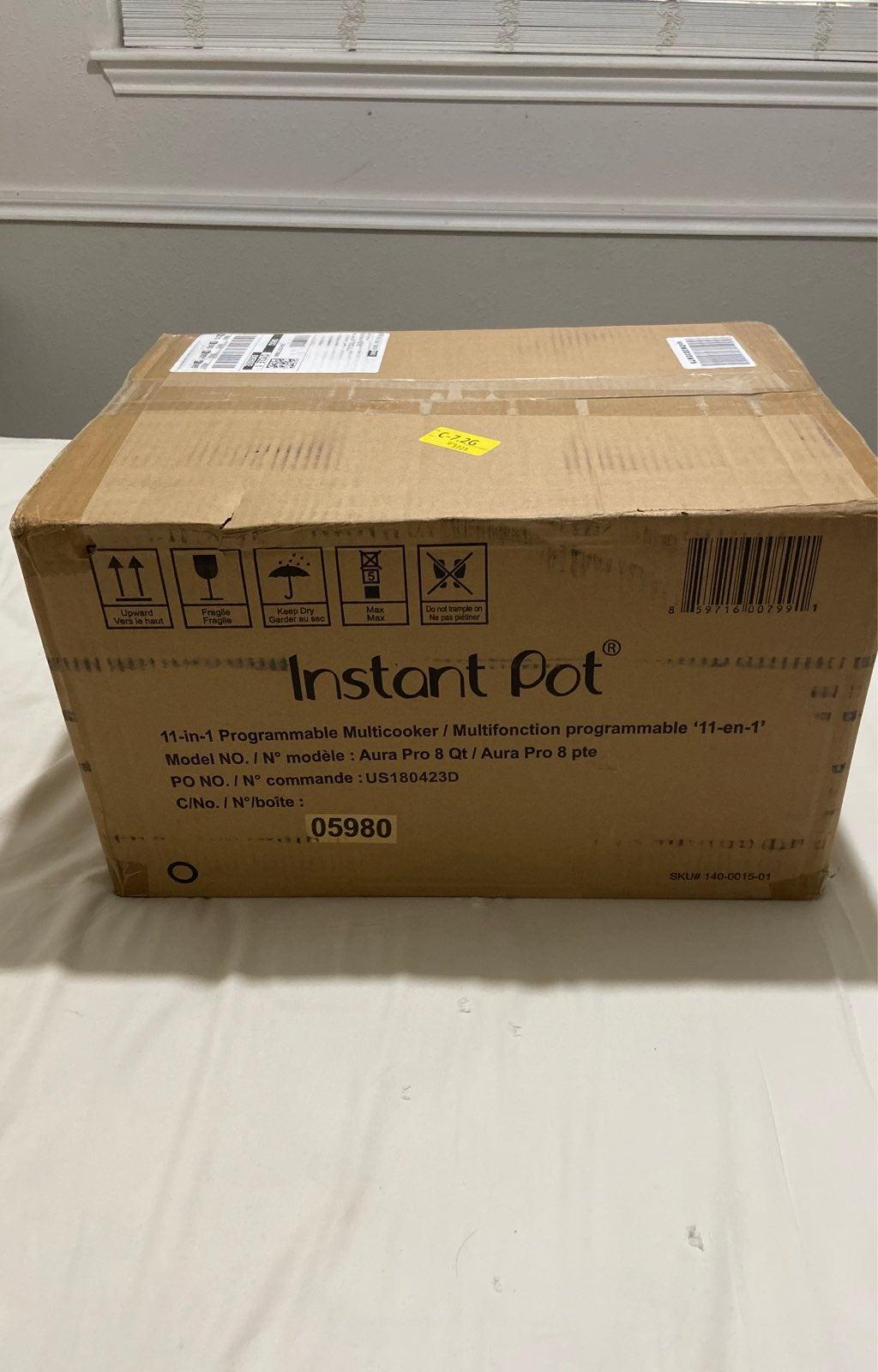 Instant Pot Aura Pro 8 Qt.