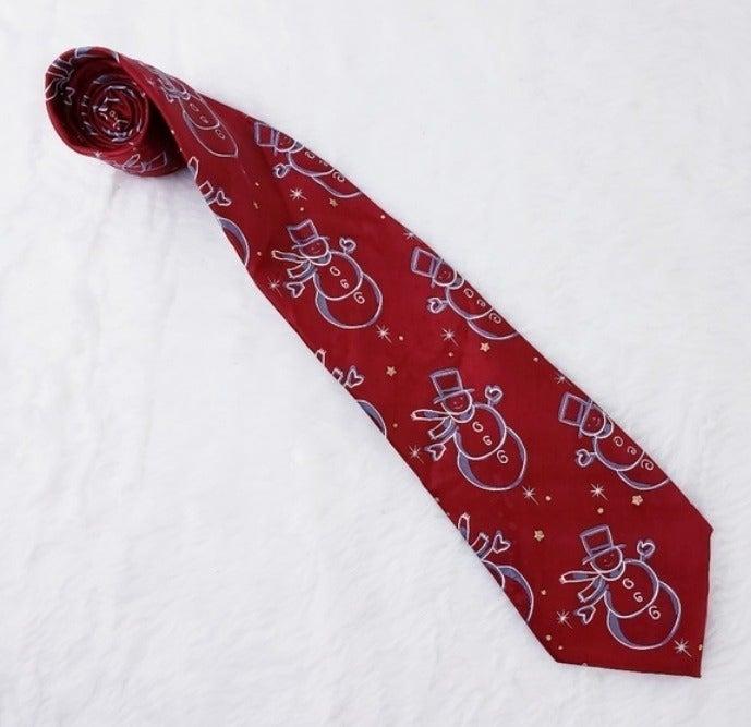 Christmas NeckTie Jhon Ashford Red Color