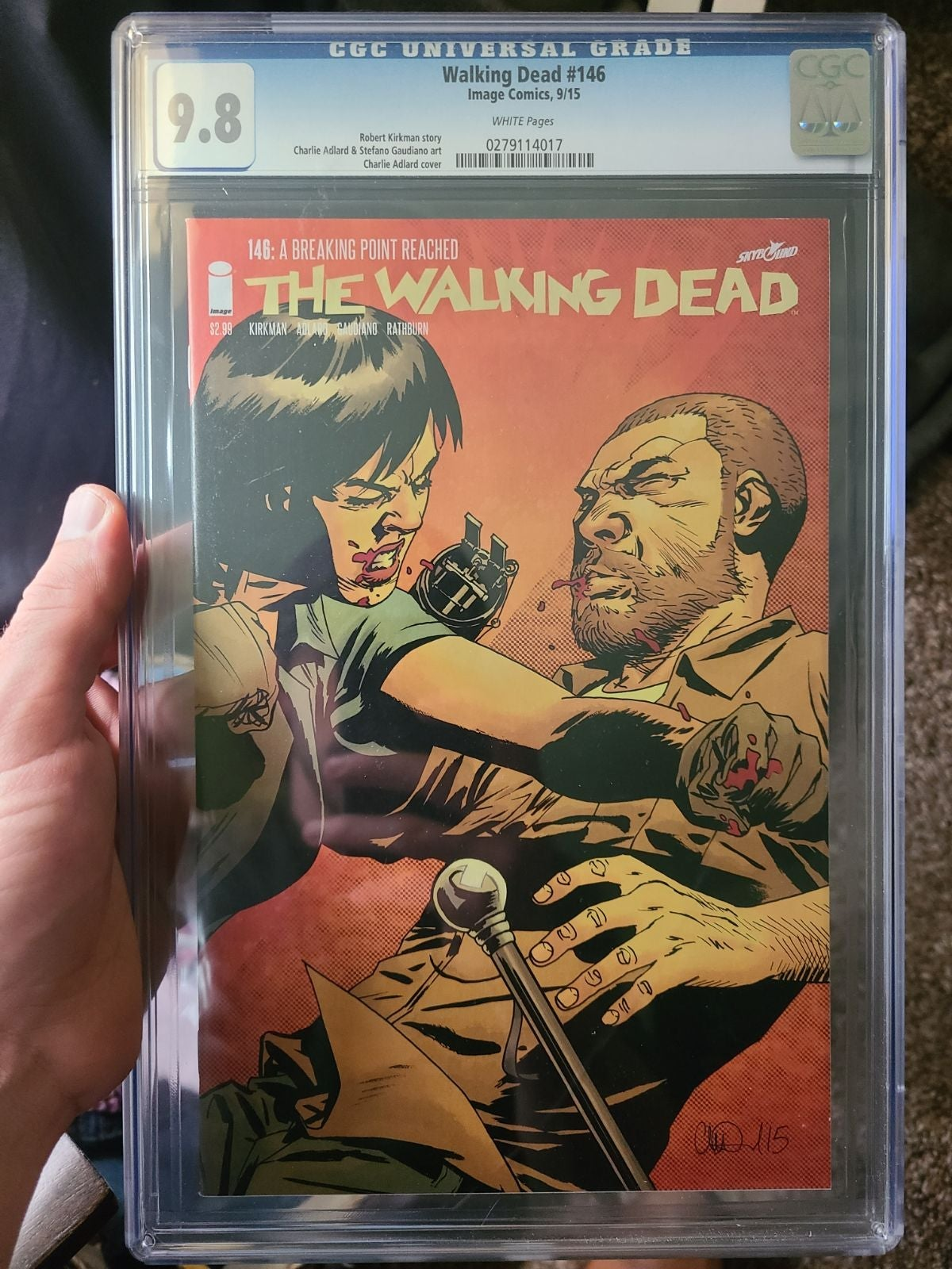 CGC 9.8 Walking Dead #146 Comic
