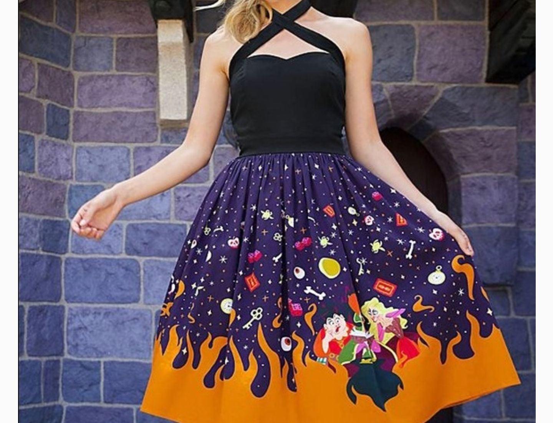 NWOT Hocus Pocus Dress Disney Dress Shop