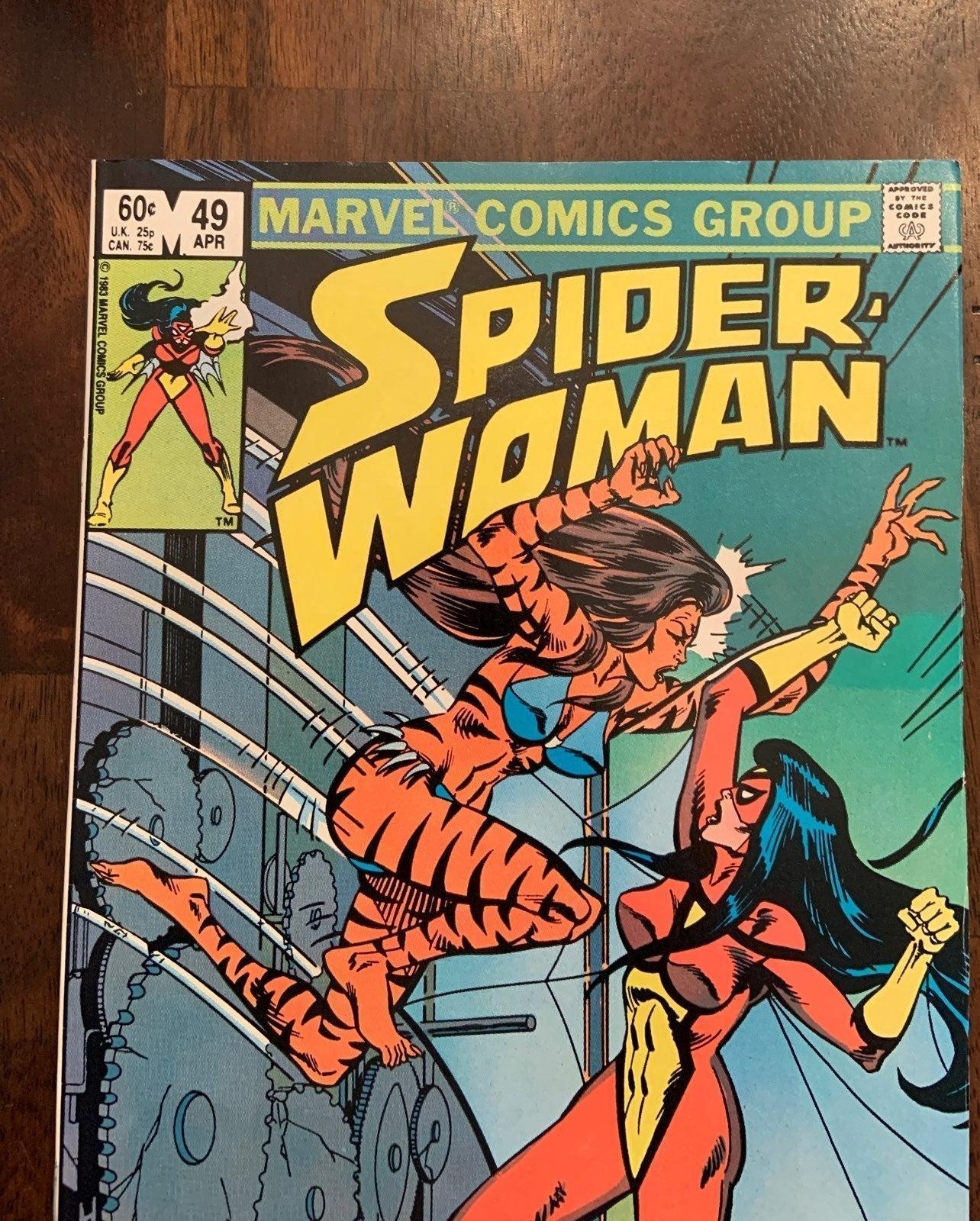 Spider-woman #49