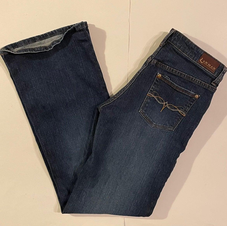 Sz 7/8 Women's Lawman Jeans (30x32.5)