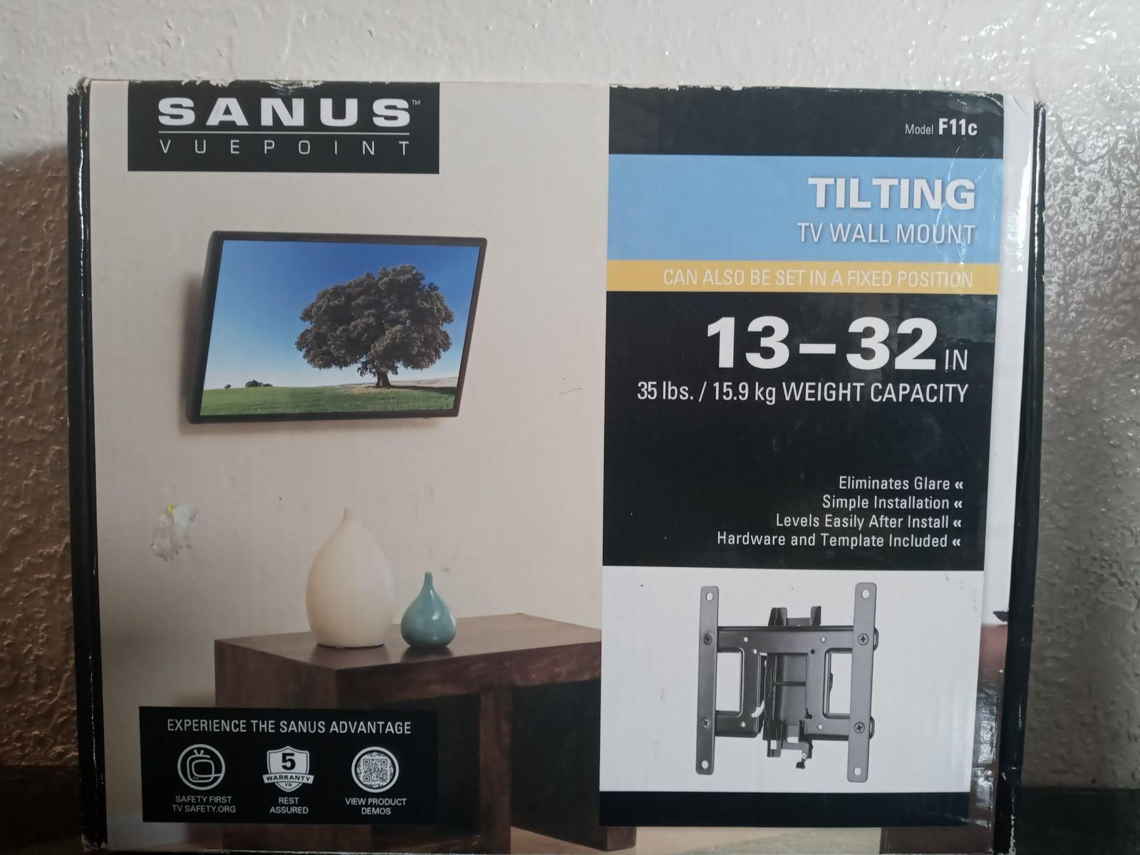 Sanus tilting TV Wall mount 13-32in.