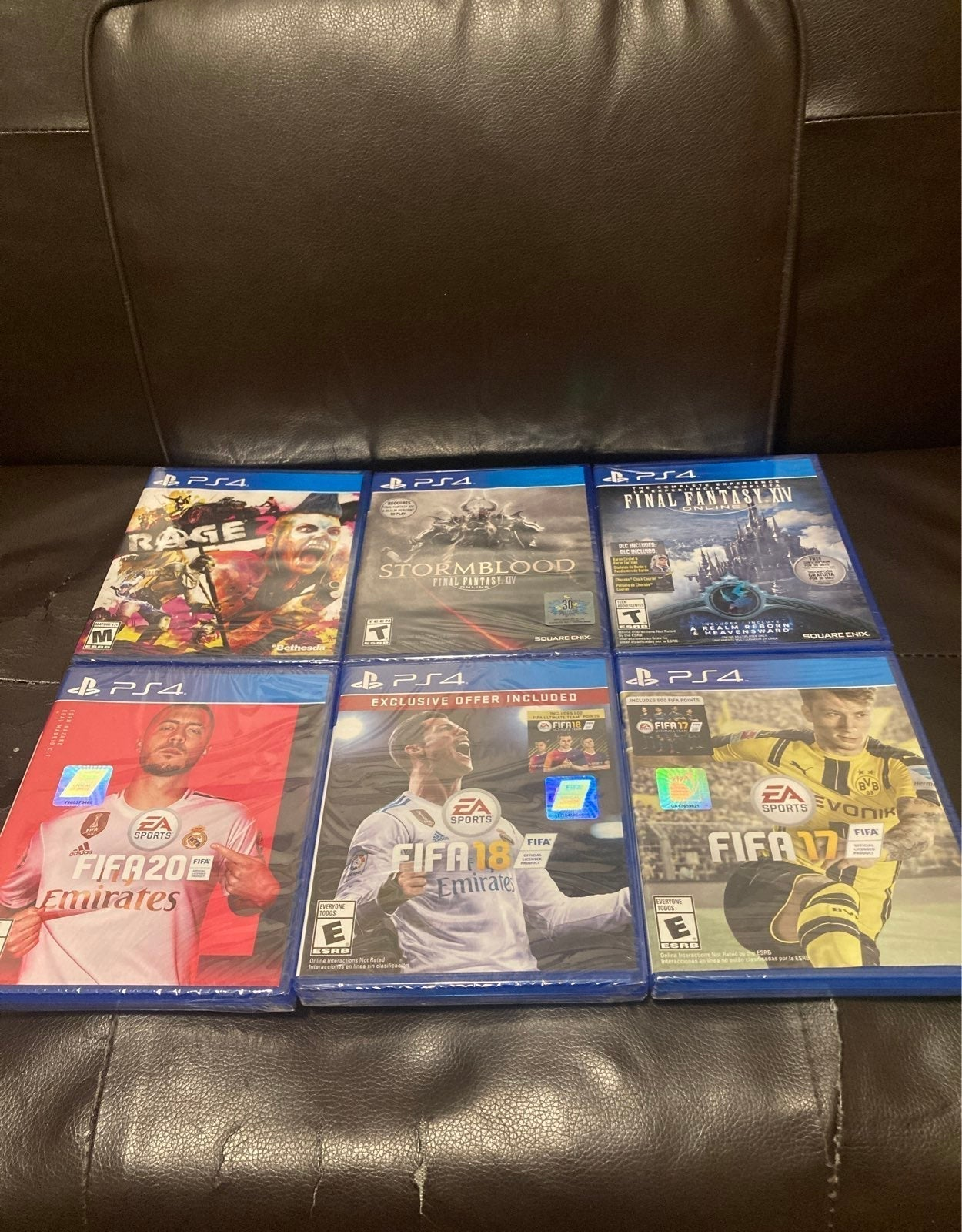 Lots of PS4 games
