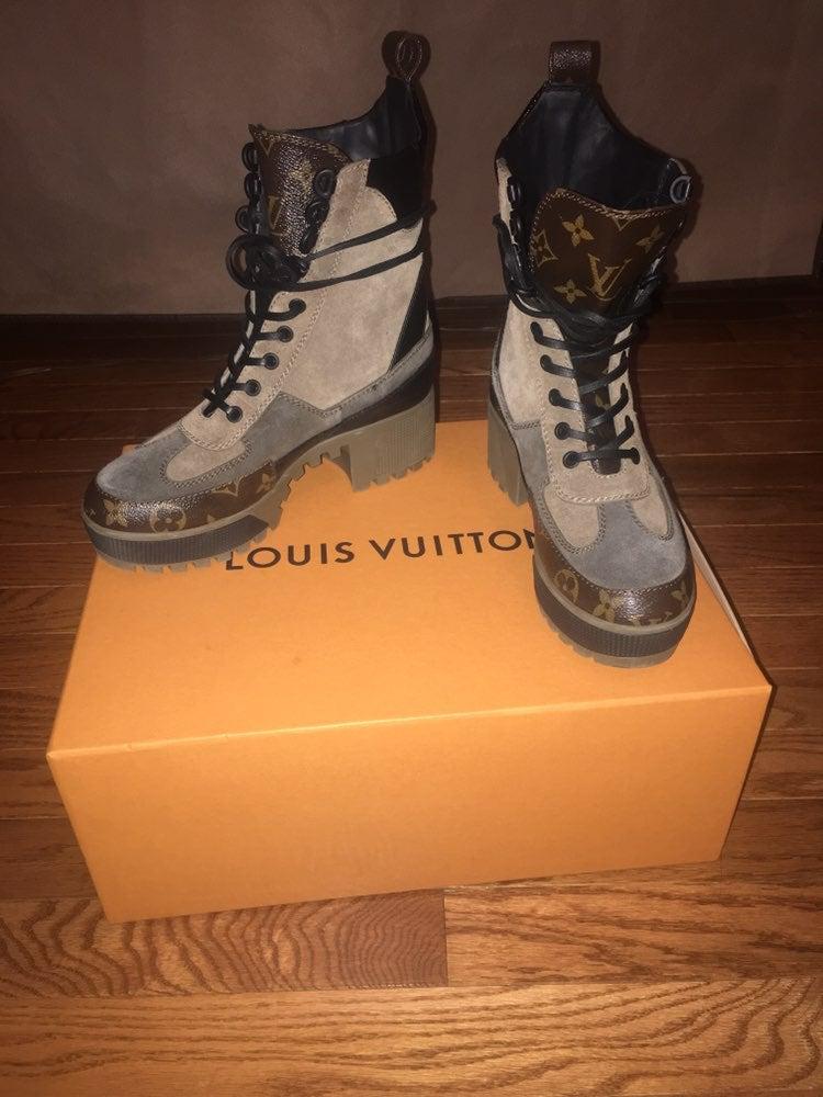 Louis Vuitton Desert Boots | Mercari