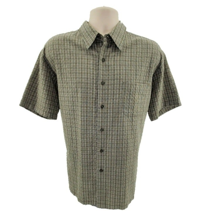 Woody's Retro Lounge Casual Button Down