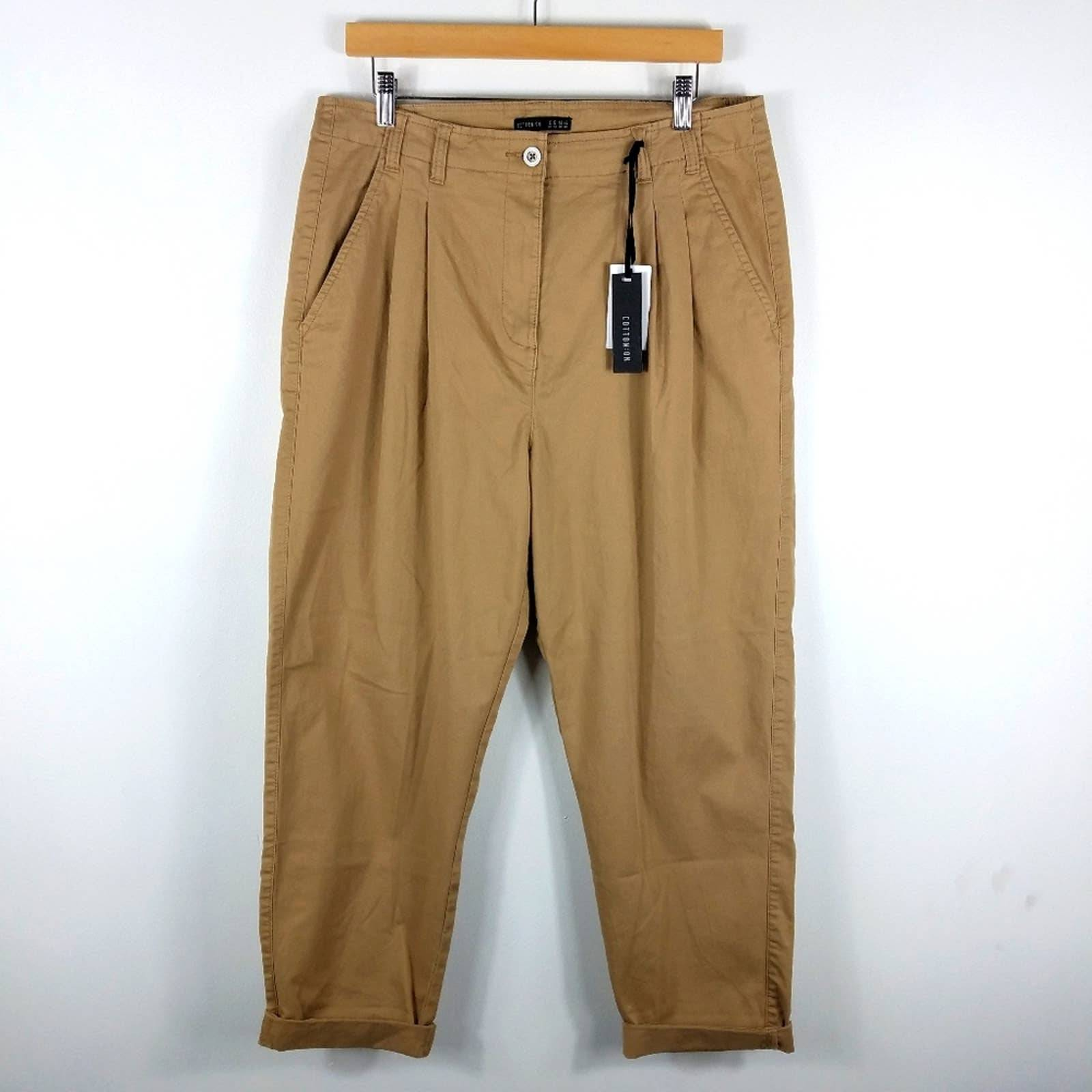 Cotton On Ashley Chino Pleated Pants