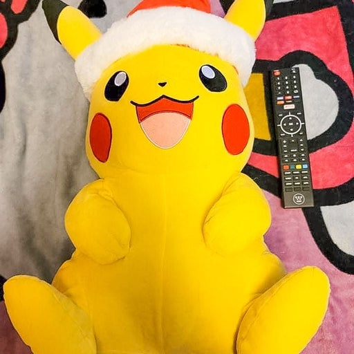 24 inch Pikachu with Santa Hat Plush