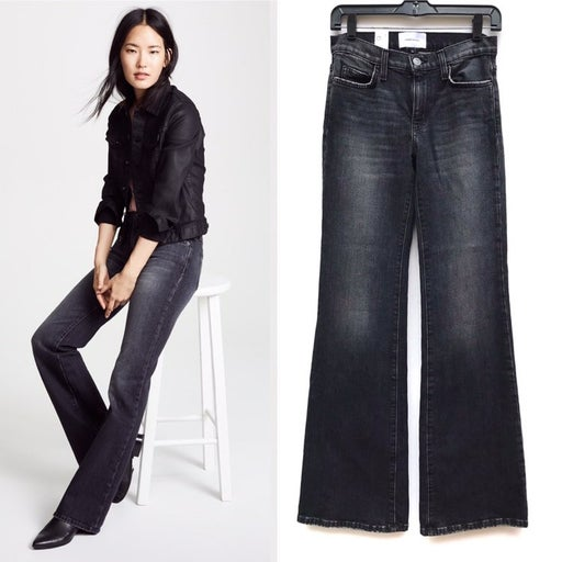 Current/Elliot Wray Wide Leg Flare Jeans