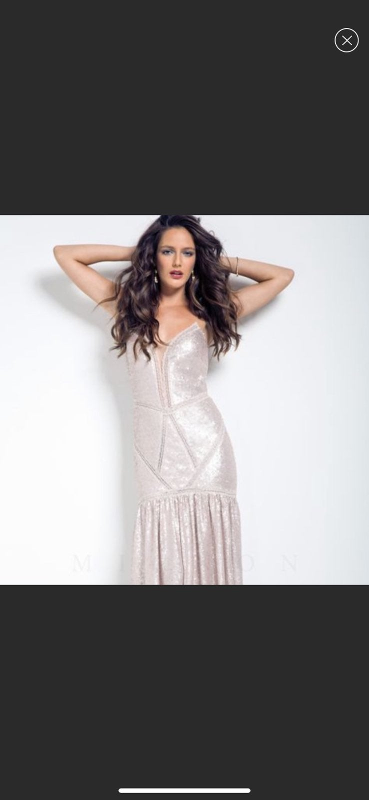 Mignon Mermaid Sequin Prom Wedding Dress