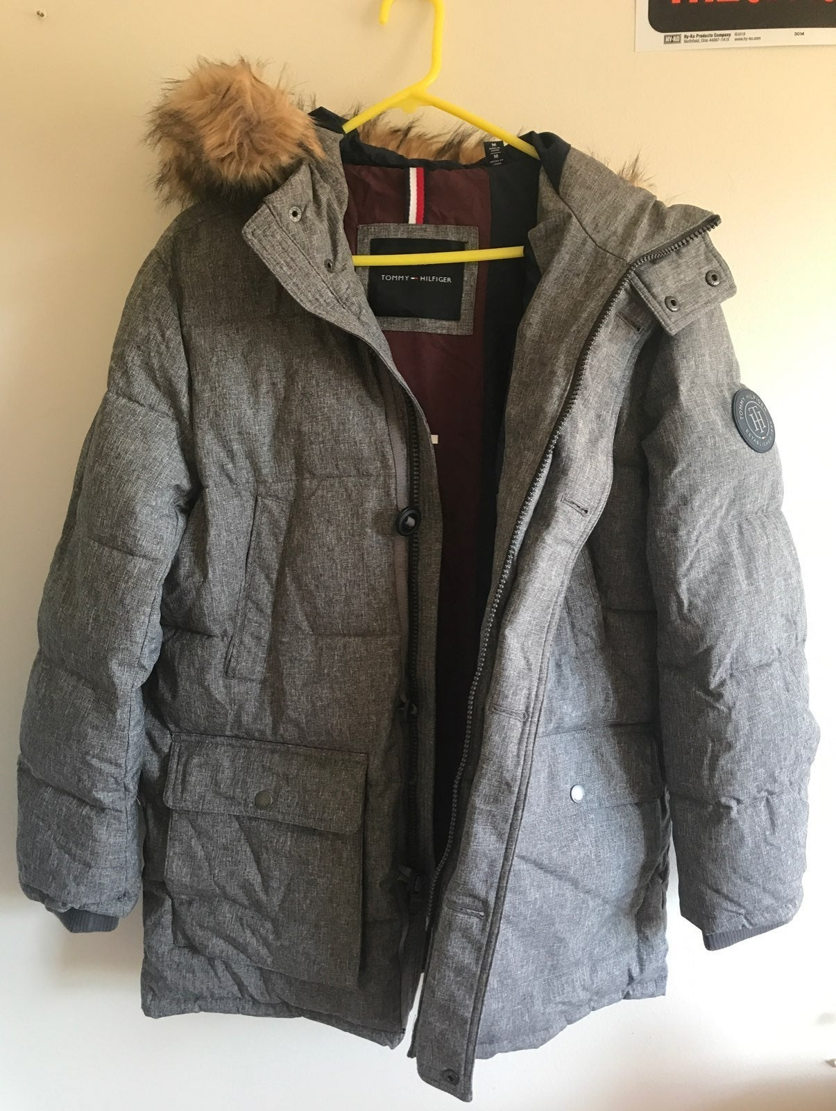 Tommy Hilfiger Long Snorkel Jacket/Coat