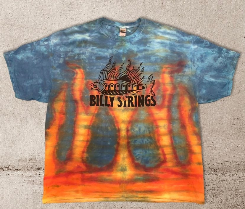billy strings tie dyed shirt