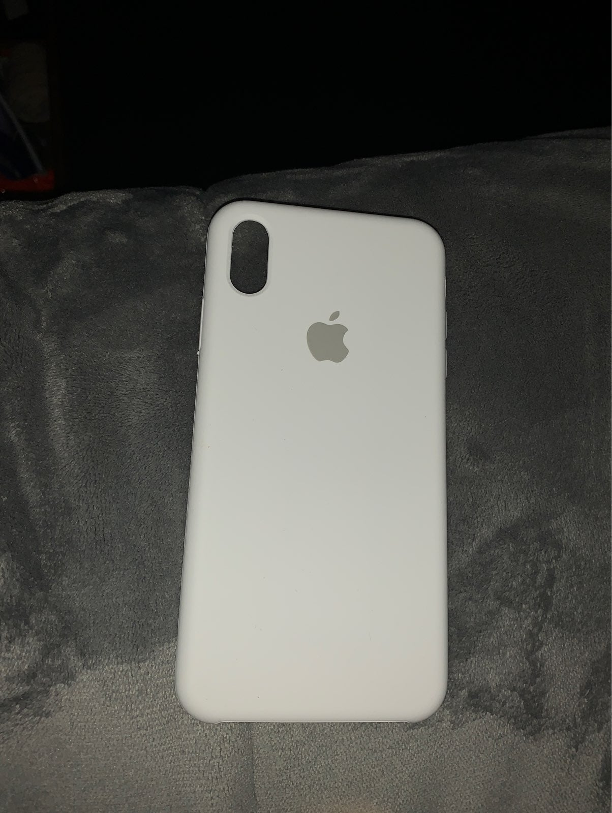 IPhone XS Max White Silicon Case