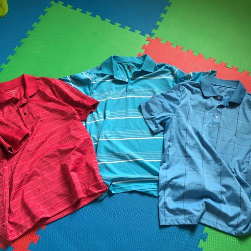 Men's Golf Shirts (x3)
