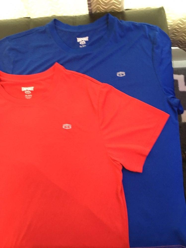 2 Tapout Drifit Shirts
