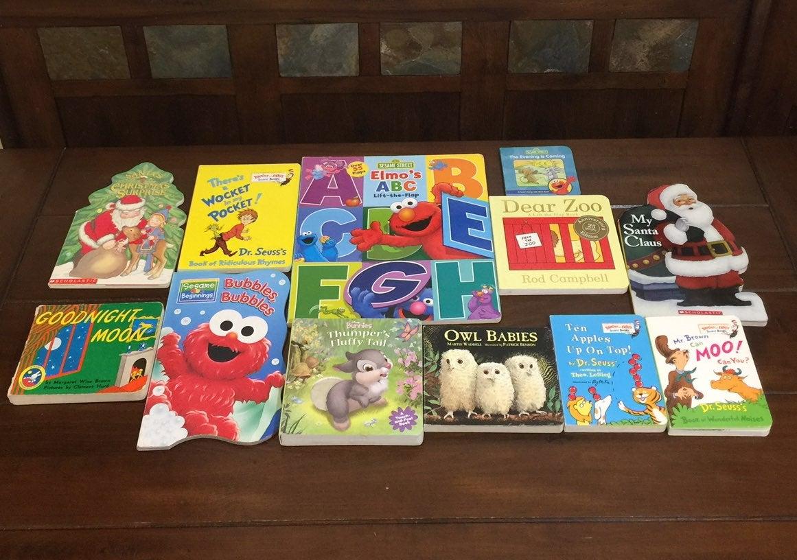 12 Children's Board Books