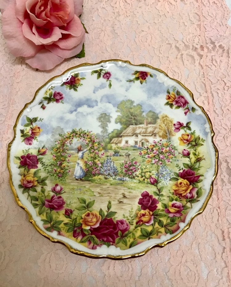 ❤️ Royal Albert Old Country Roses Plate