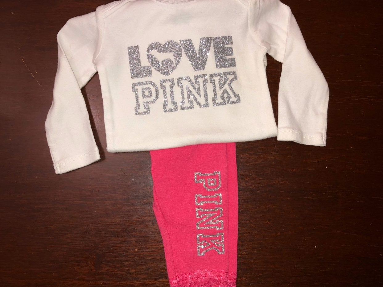 VS Pink inspired girls outfit