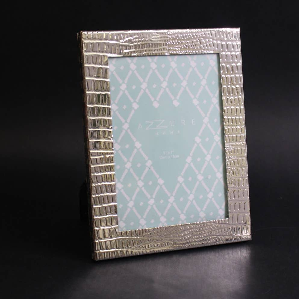 """Azzure Home Silver Picture Frame 5 x 7"""""""