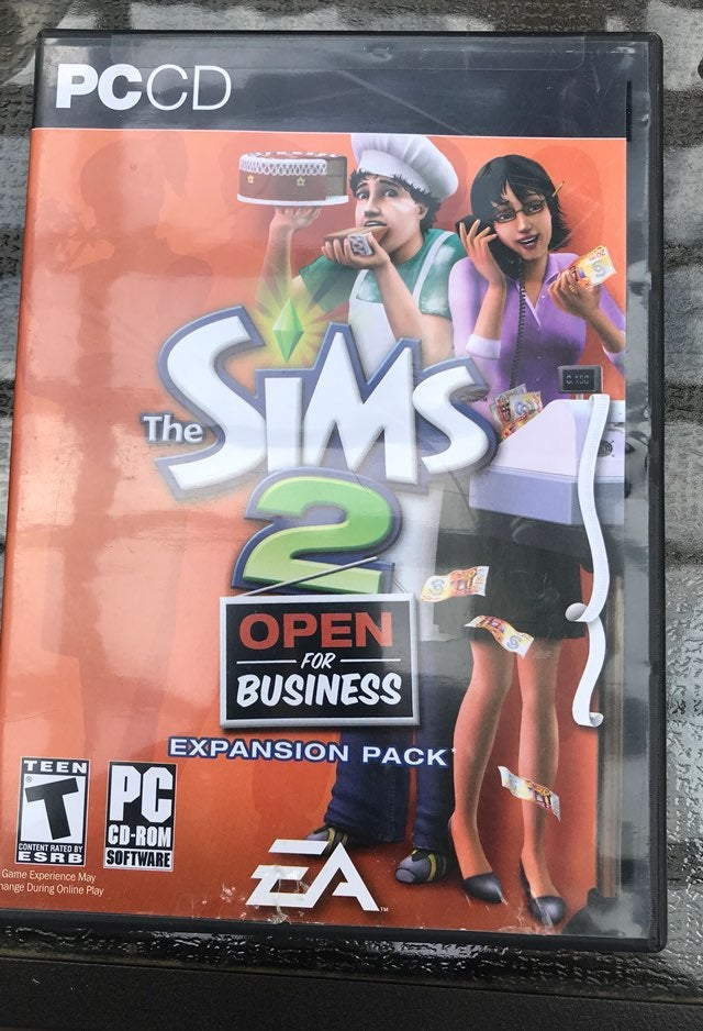 The Sims2 Open For Business Expansion Pc
