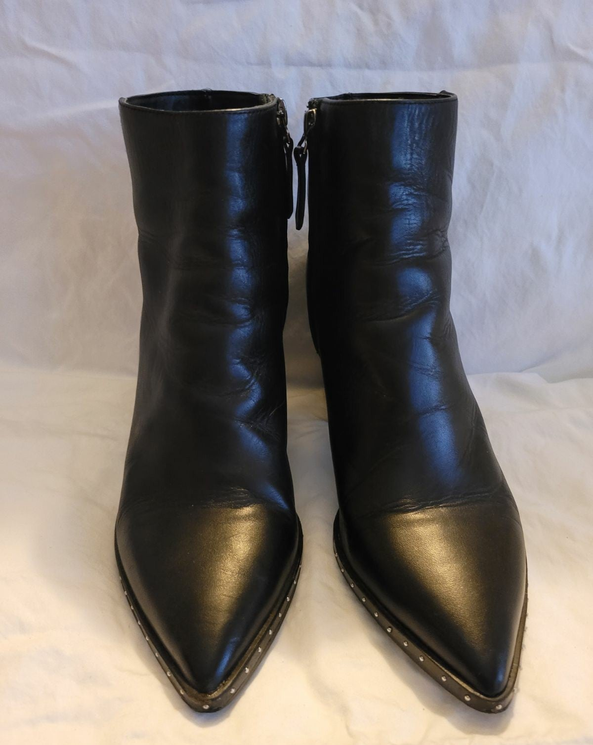 Tony Bianco Bailey Black Ankle Boots