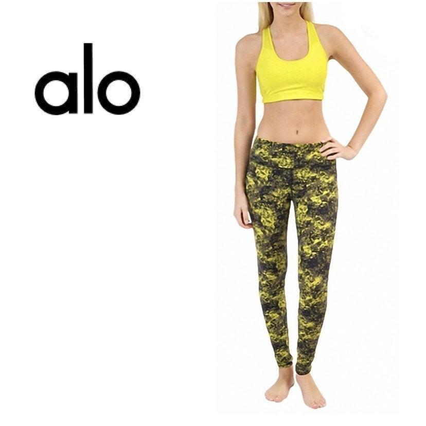 Alo Airbrushed leggings high waist Large