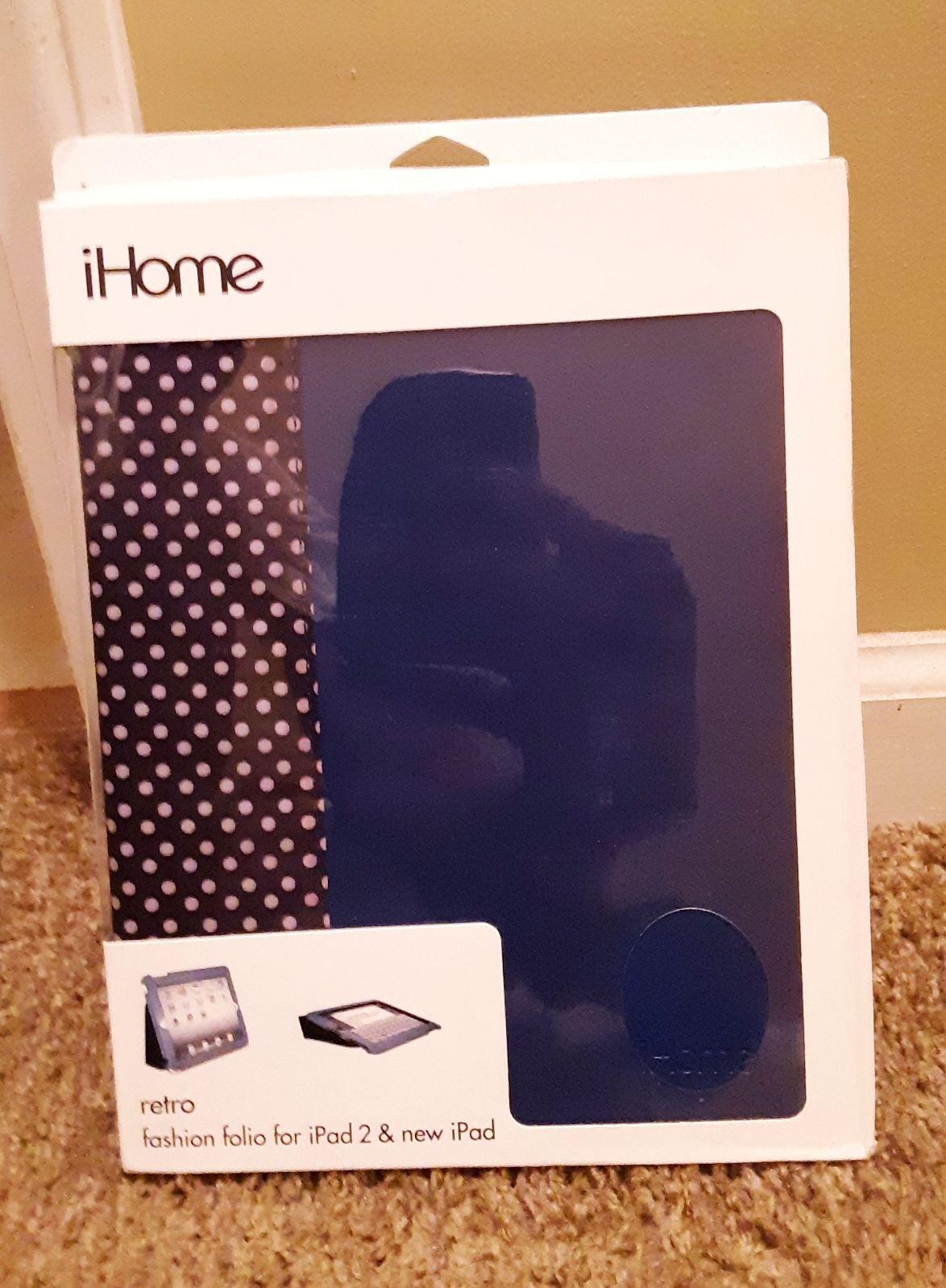 iHome Retro Fashion Folio Case for iPad2
