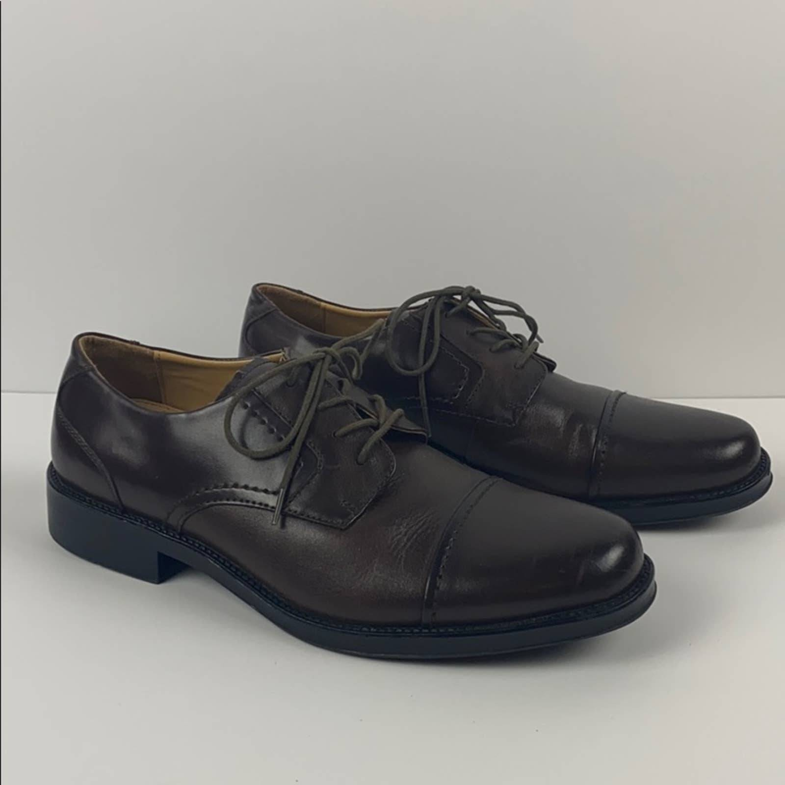 Dockers mens lace up leather dress shoes