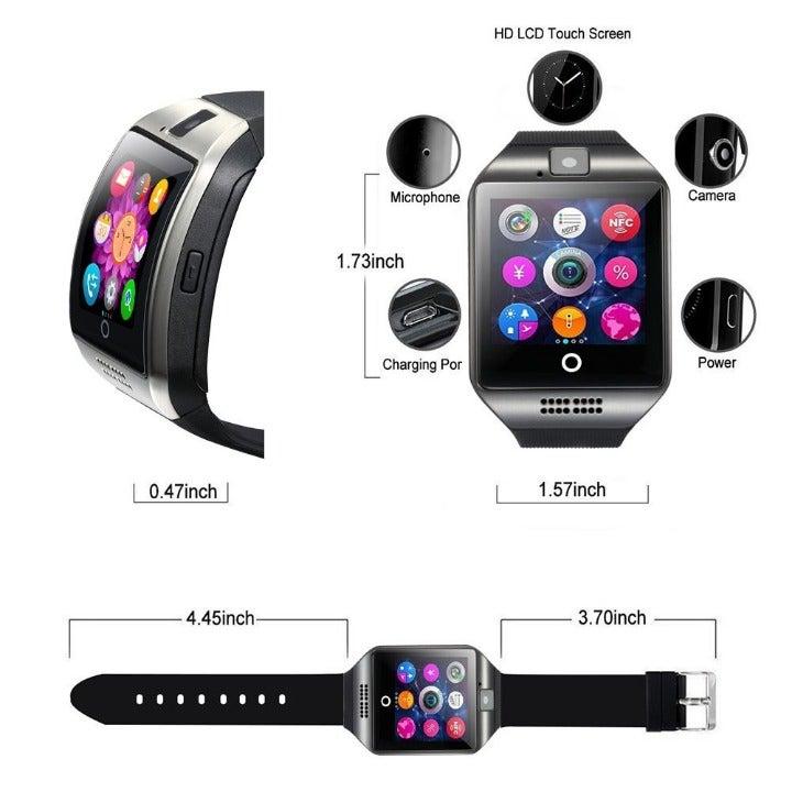 Bluetooth Smart Watch Phone Unlocked GSM