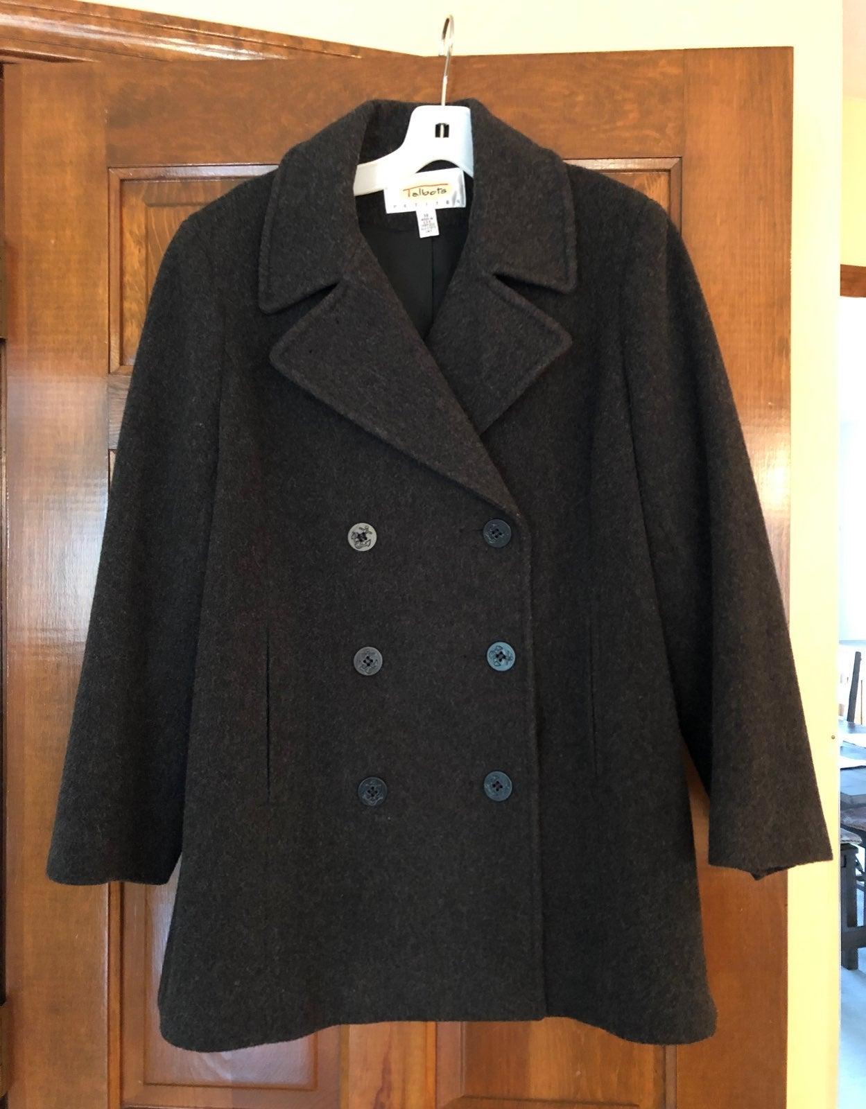 Talbots Pea Coat