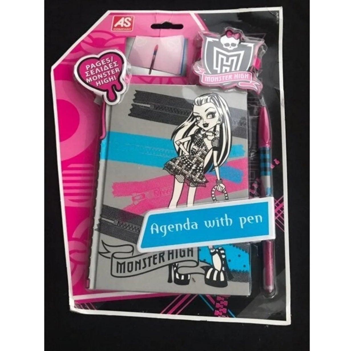 Monster High Agenda With Pen