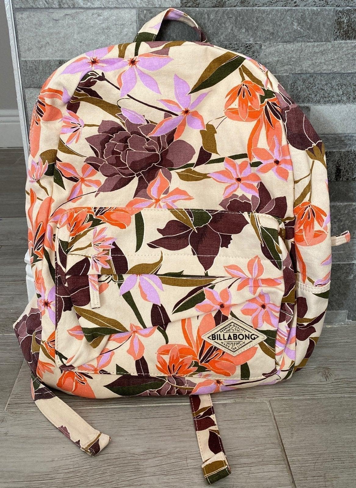 Billabong Hawaii Flower Backpack