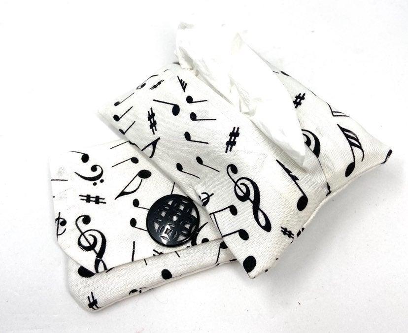 Music Note Card Wallet/Tissue Holder Set
