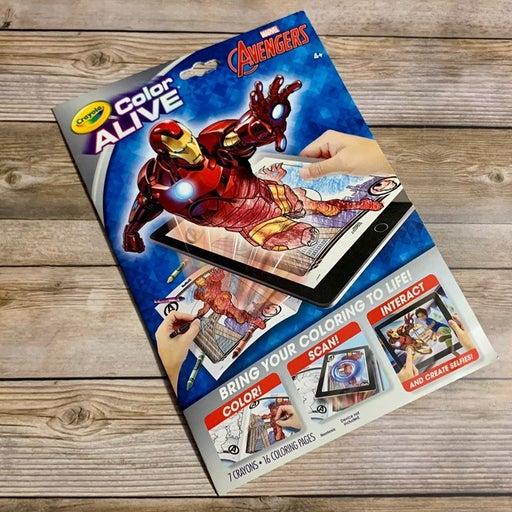 Avengers Color Alive