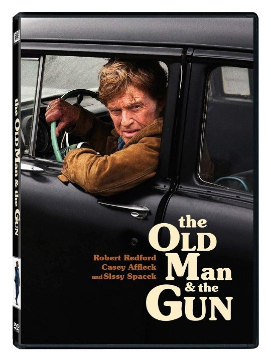 The Old Man And The Gun DVD MOVIE