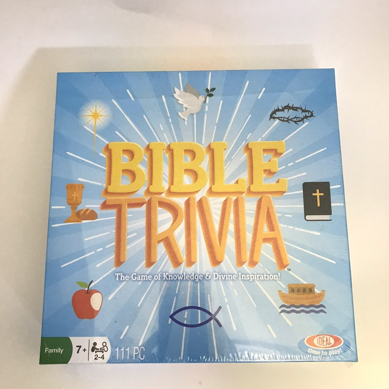 Bible Trivia Board Game Ideal Brand New