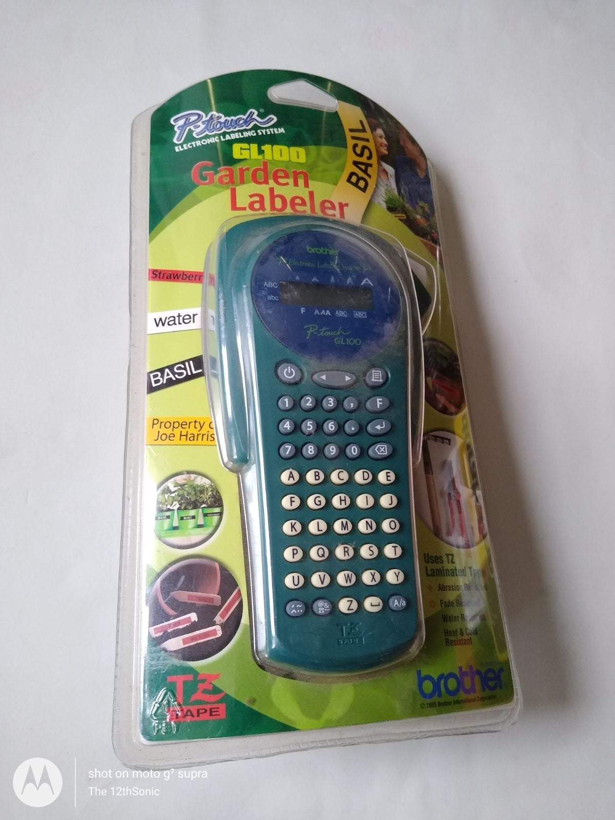 New P-Touch GL100 Garden Labeler Brother