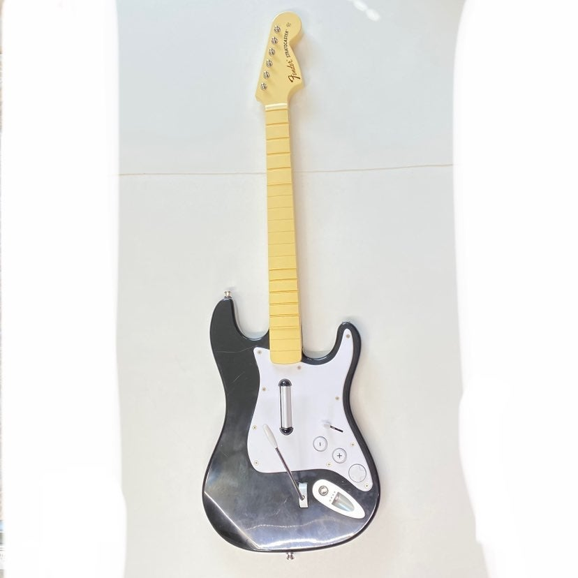 Wii Rock Band Fender Stratocaster Guitar