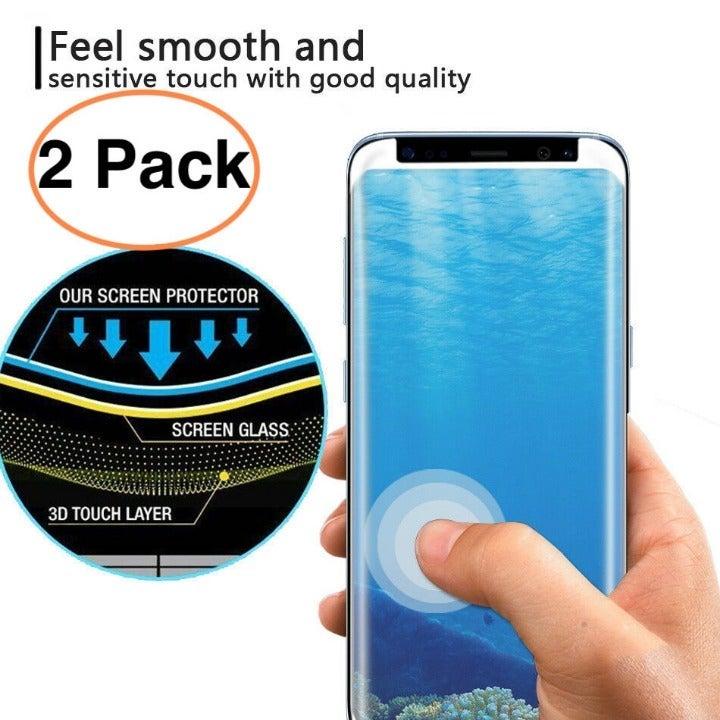2 Galaxy Note 9 Screen Protector 4D Temp